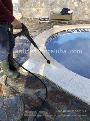 Mantenimiento construccion piscinas Barcelona piscina terrazas exteriores jardines jardin Terrassa Cugat Valles Sant Vicen� Montalt Llavaneres Prat Alella Cabrils Premia dalt mar Badalona Badalona jardineria Maresme