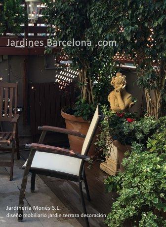 Dise�o construcion mobiliario exterior Barcelona jardin terrazas Terrassa Sant Cugat Valles Sant Vicen� de Montalt Andreu Llavaneres Tiana Alella Cabrils Premia dalt Cabrera Argentona Valles jardineros Maresme