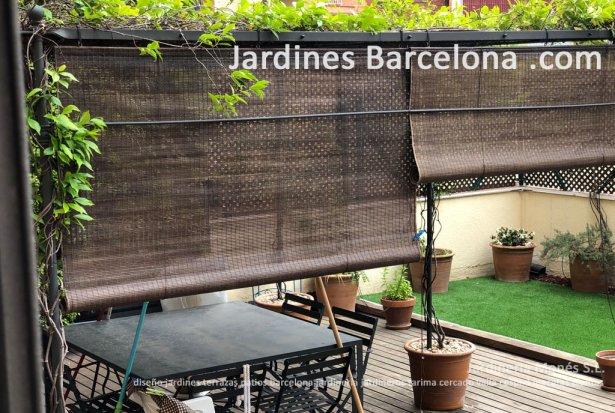 Dise�o construccion patios exterior Barcelona madera sintetica  patio dise�o Catalu�a jardin Sant Cugat Valles Sant Vicen� Montalt Andreu Llavaneres Tiana Alella Cabrils Badalona Mar Dalt Cabrera Argentona pavimento v