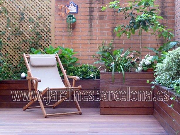 Dise�o construcion mobiliario exterior Barcelona jardin terrazas Terrassa Sant Cugat Valles Sant Vicen�  Llavaneres Tiana Alella Cabrils Premia dalt Cabrera Argentona Valles jardineros Llobregat Sabadell