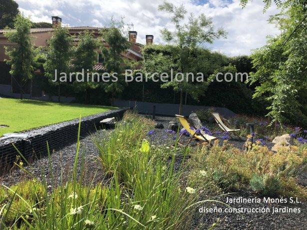 Barcelona empresa constructora paisajista paisajismo exteriores jardines terrazas dise�o exterior Maresme jardi terraza jardineria Sant Valles Andreu Tiana Alella Premia dalt mar proyectos Llobregat Badalona Mollet
