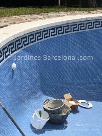 Mantenimiento construccion piscinas Barcelona piscina terrazas exteriores jardines jardin Terrassa Cugat Valles Sant Vicen� Montalt Llavaneres Tiana Alella Cabrils Premia dalt mar Badalona Badalona jardineria Maresme