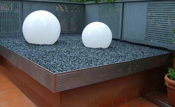 Jardines Minimalistas Creacin de jardines estilo oriental