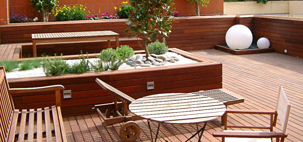 Terrazas servicio de dise o construcci n y mantenimiento for Patios y terrazas disenos